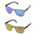 Eyelevel Brisbane Sunglasses Blue or Red Multicoated Lens
