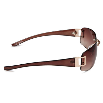 Eyelevel Womens Lydia Brown Sunglasses