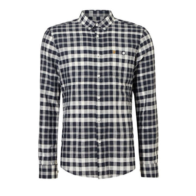 Farah Anderton Long Sleeve Check Shirt True Navy