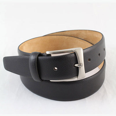 IBEX Of England Real Leather Fromal Belt Black 35mm
