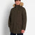 Lyle and Scott Winter Weight Mircofleece Linned Parker Jacket Trek Green