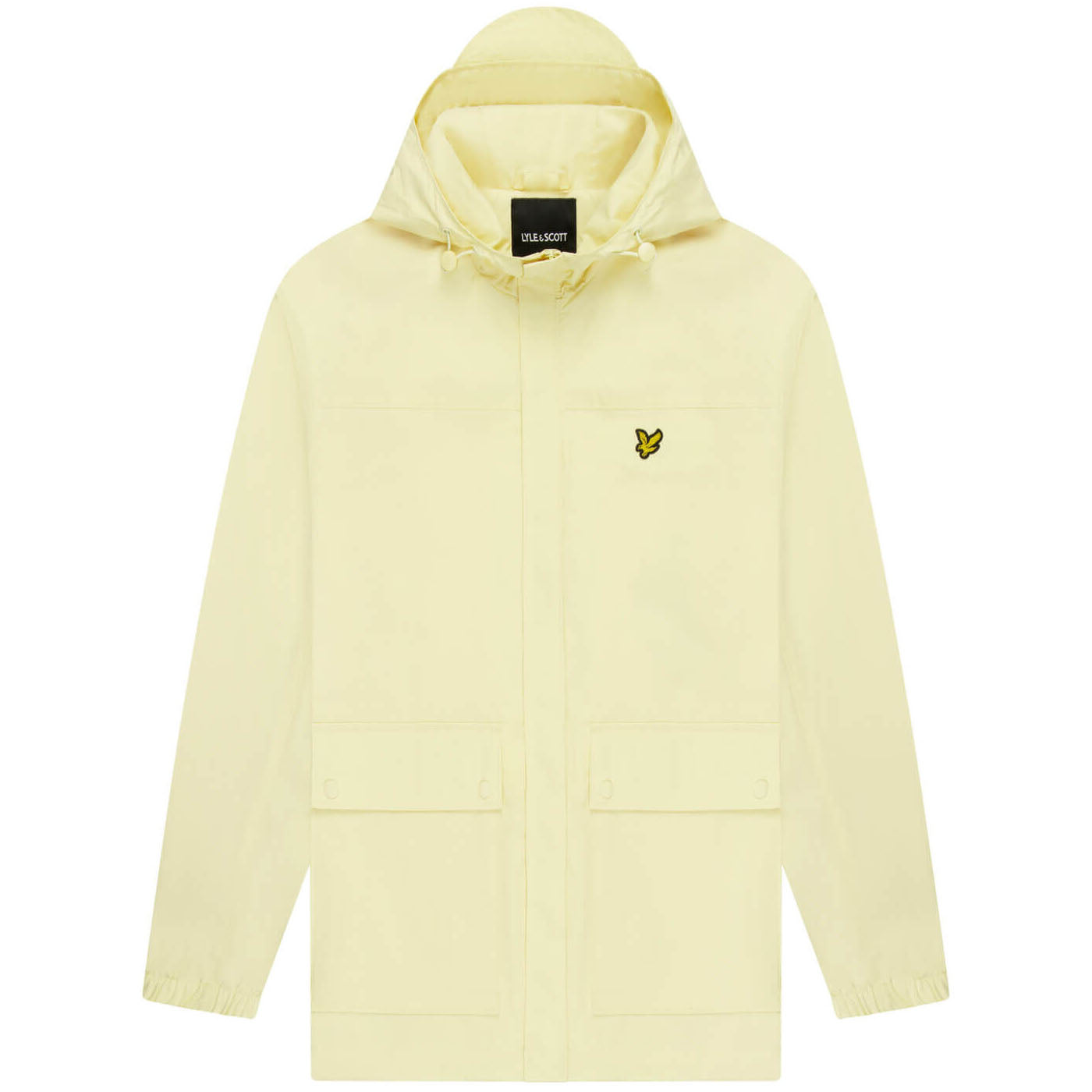 Lyle & Scott Hooded Pocket Jacket Lemon