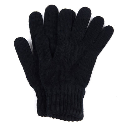 Barbour Lambswool Gloves Black