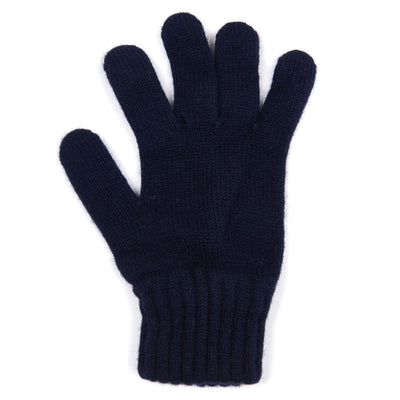 Barbour Lambswool Gloves Navy