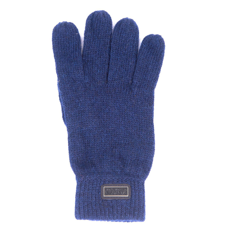 Barbour International Sensor Knitted Gloves Deep Blue