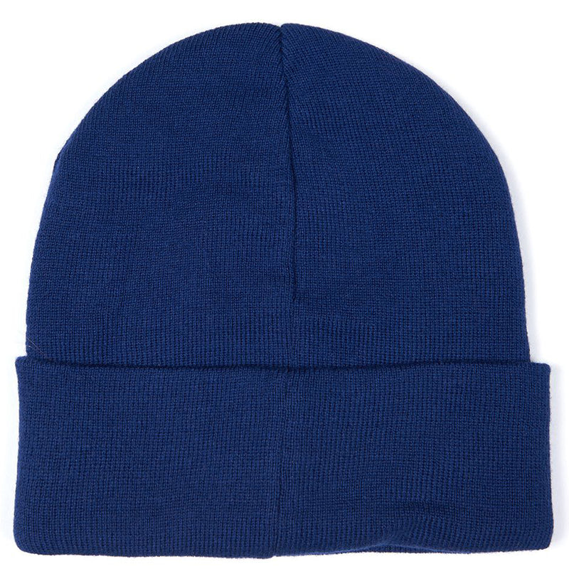 Barbour International Sensor Knit Beanie Deep Blue