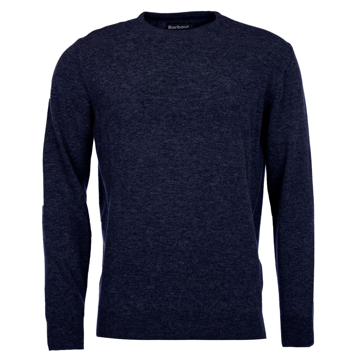 Barbour Essential Lambswool Crew Neck Jumper Indigo