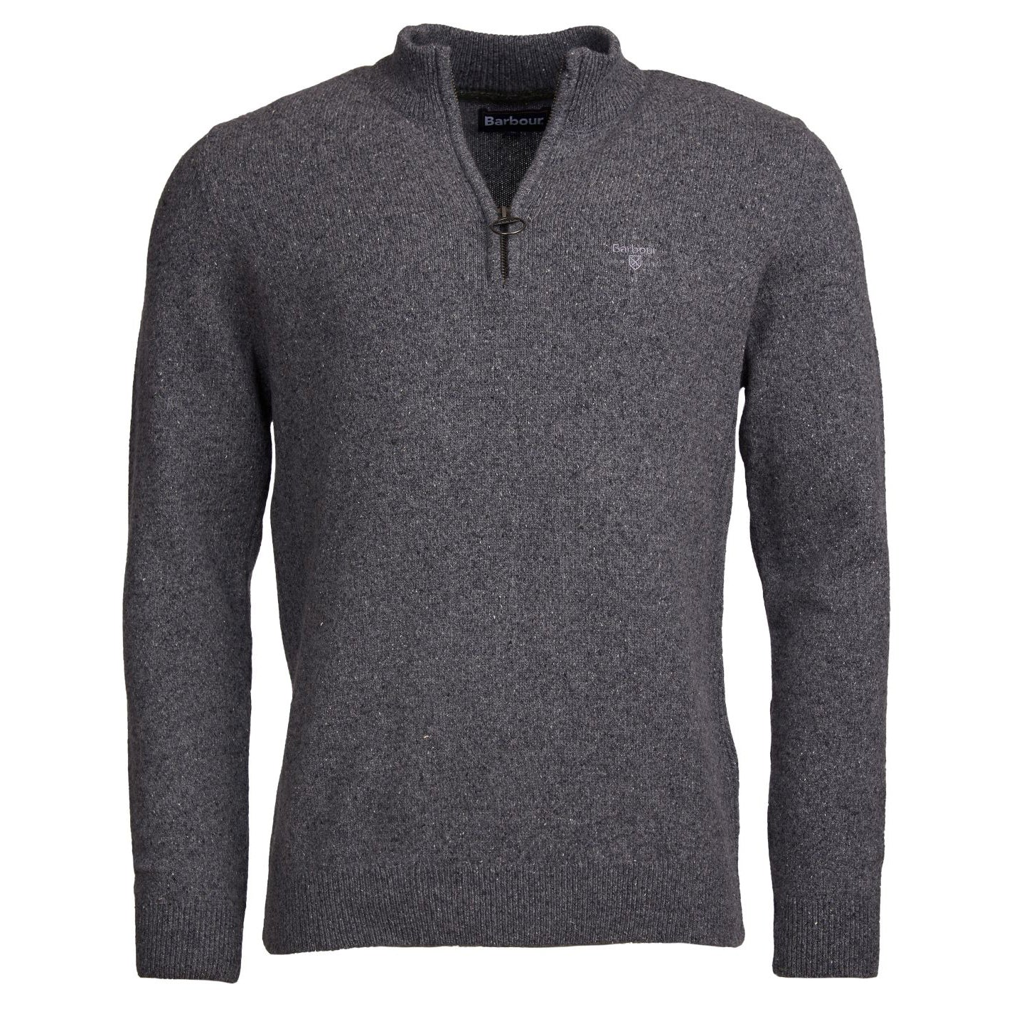 Barbour Tisbury Half Zip Jumper Grey