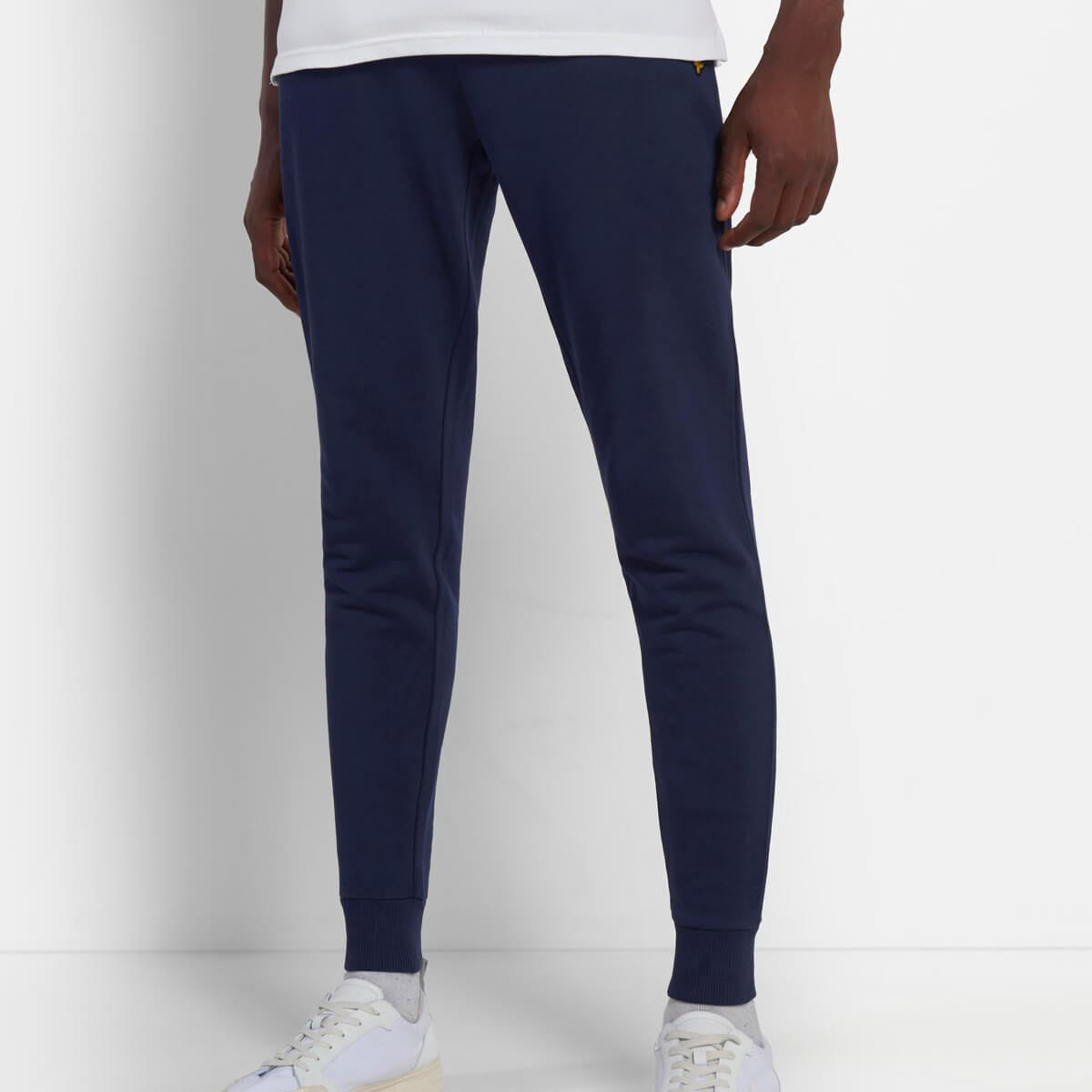 Lyle & Scot Skinny Sweatpant Joggers Navy