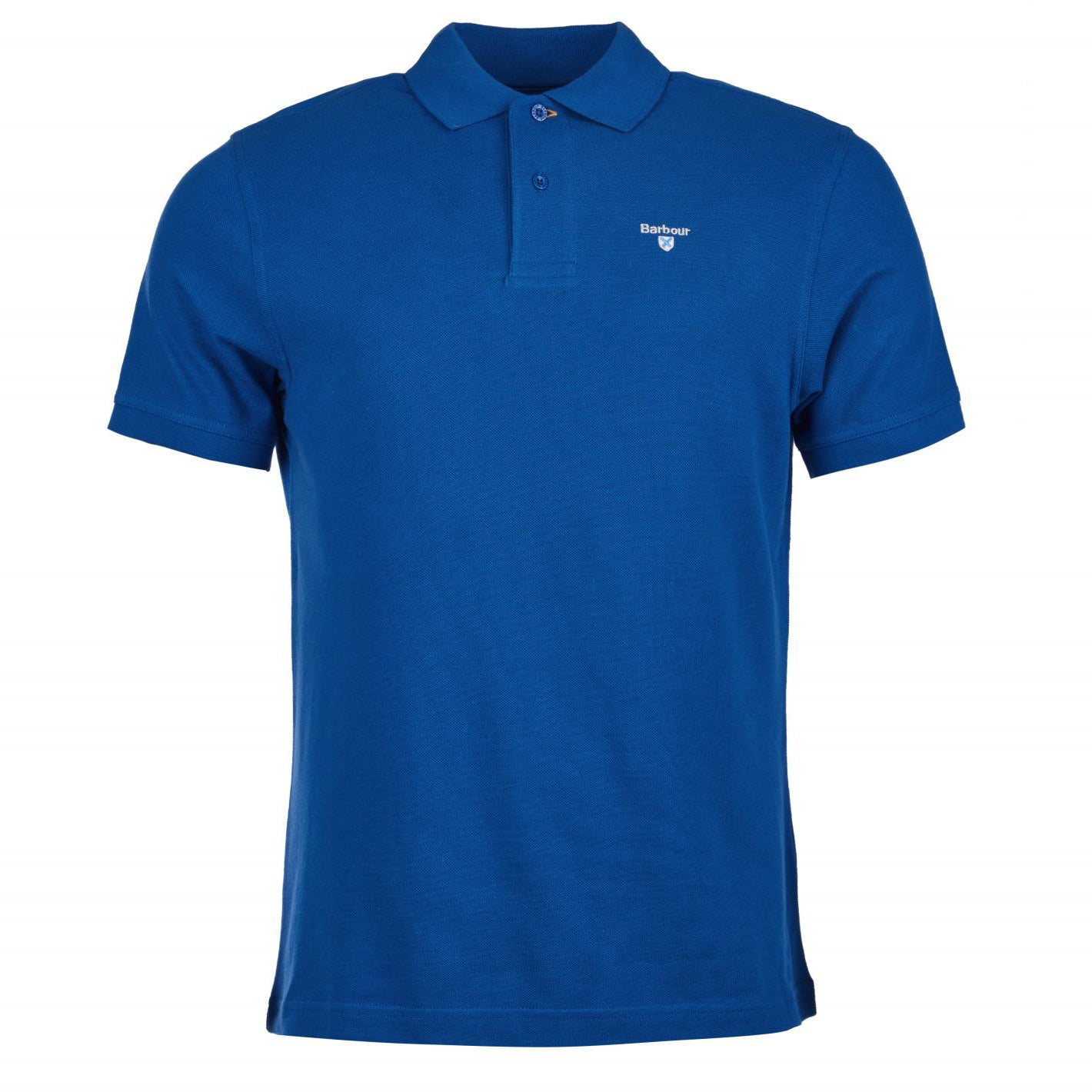 Barbour Sports Short Sleeve Polo Shirt Atlantic Blue