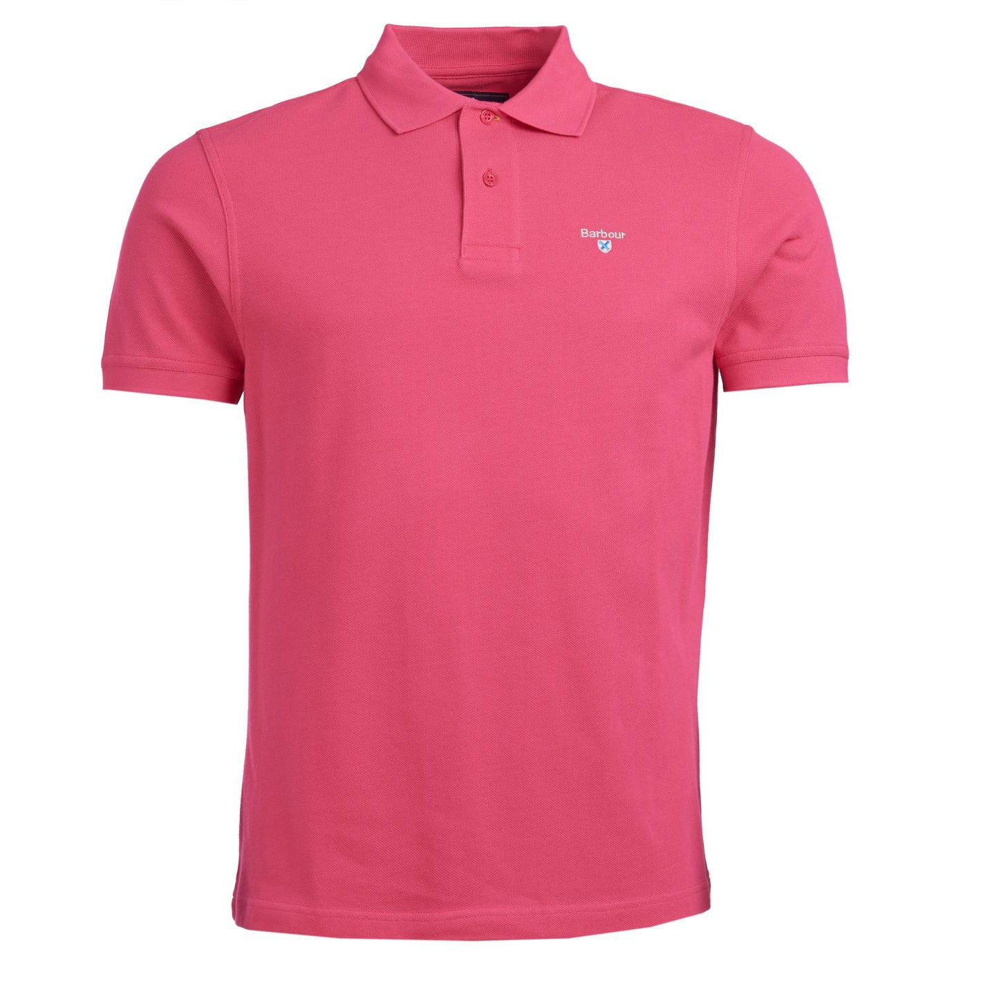 Barbour Sports Short Sleeve Polo Shirt Sorbet