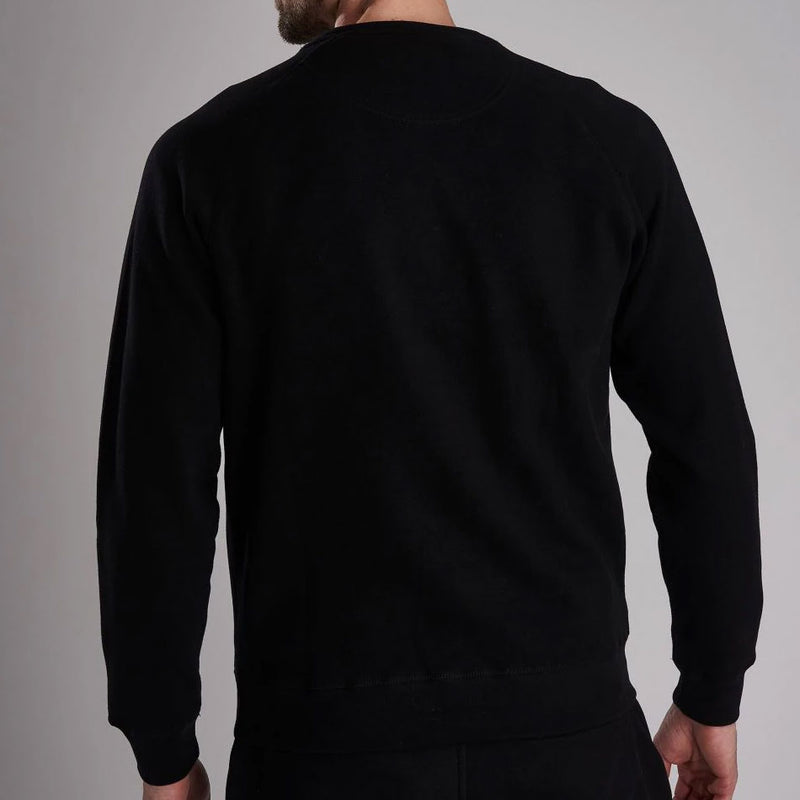 Barbour International Essential Crew Sweater International Black
