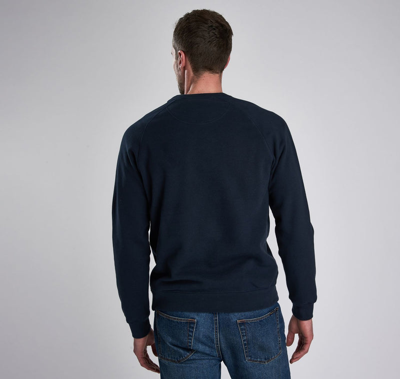 Barbour International Essential Crew Sweater International Navy