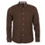 Barbour Cord 1 Tailored Long Sleeve Shirt Brown