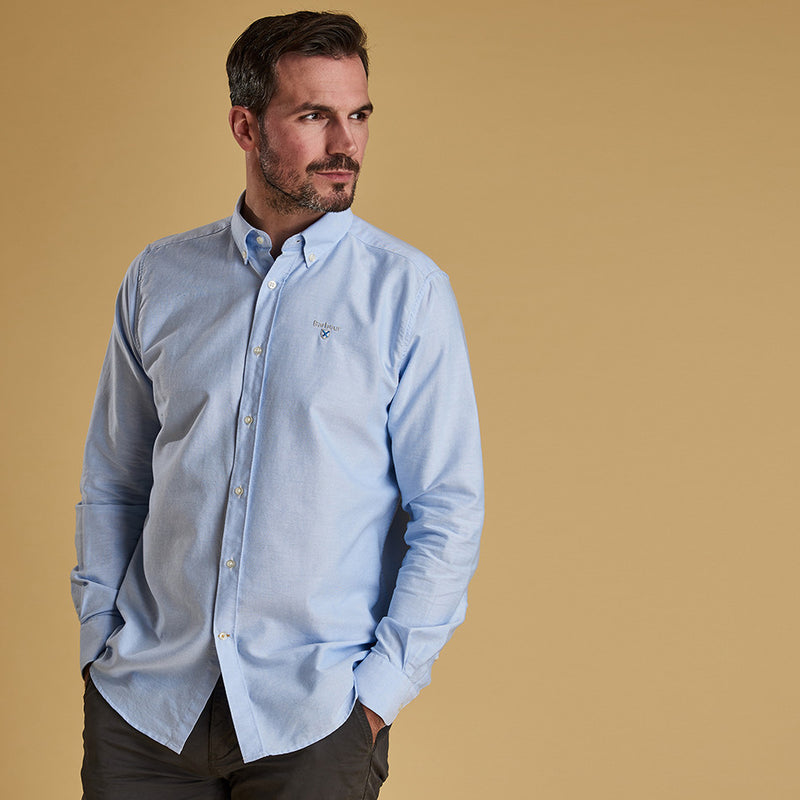 Barbour Oxford 3 Long Sleeve Shirt Sky
