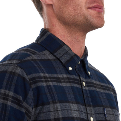 Barbour Highland Check 19 Tailored Shirt Grey