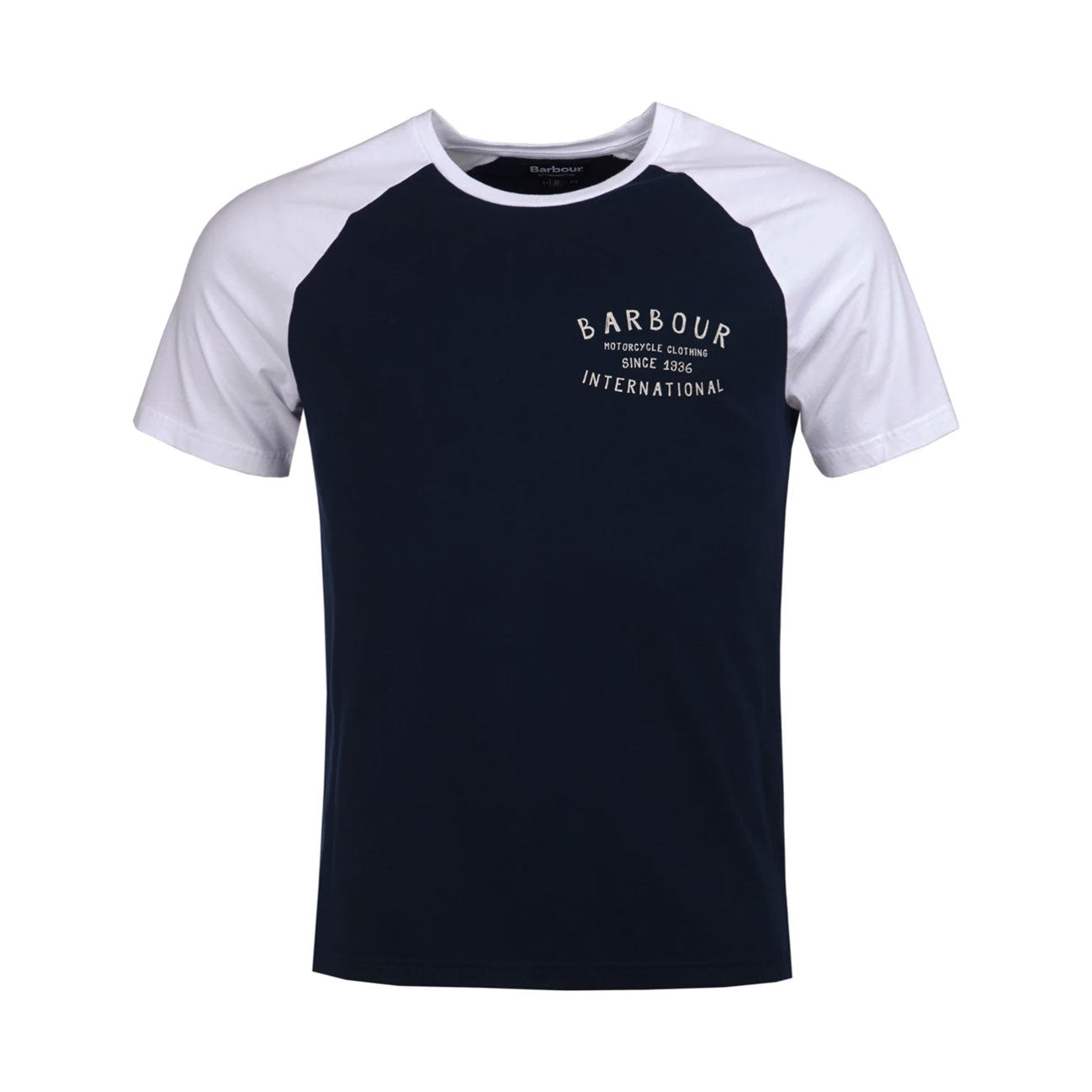 Barbour International Etch Raglan T-Shirt Navy