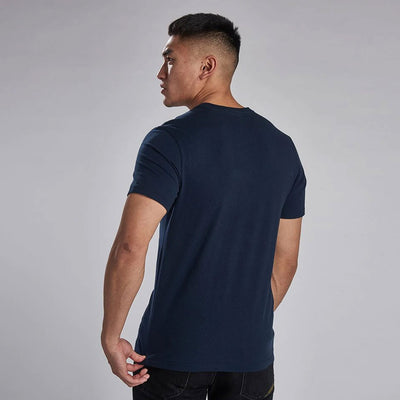 Barbour International Compressor T-Shirt Navy
