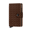 Secrid Miniwallet Basket Brown Leather Wallet