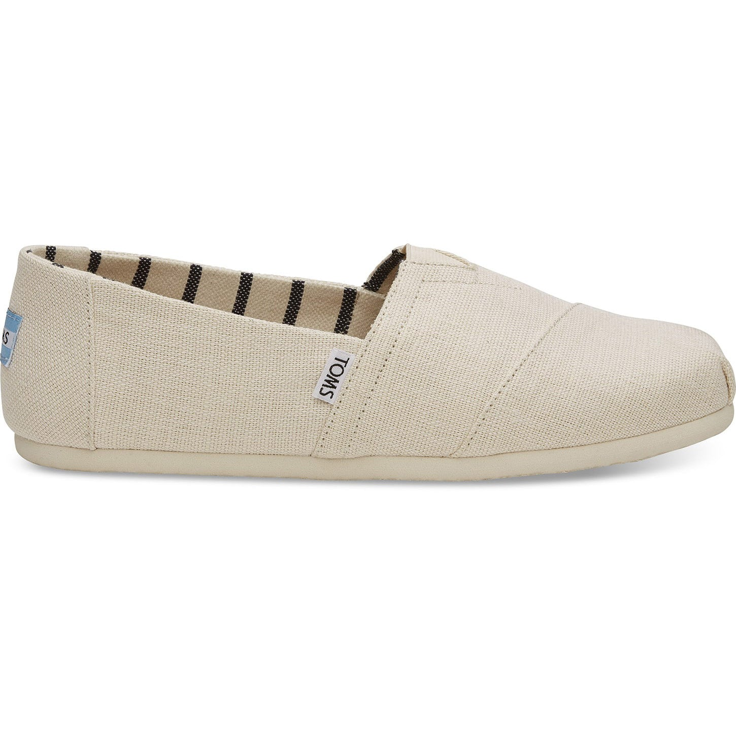 Toms Mens Antique White Heritage Canvas Classics Espadrilles