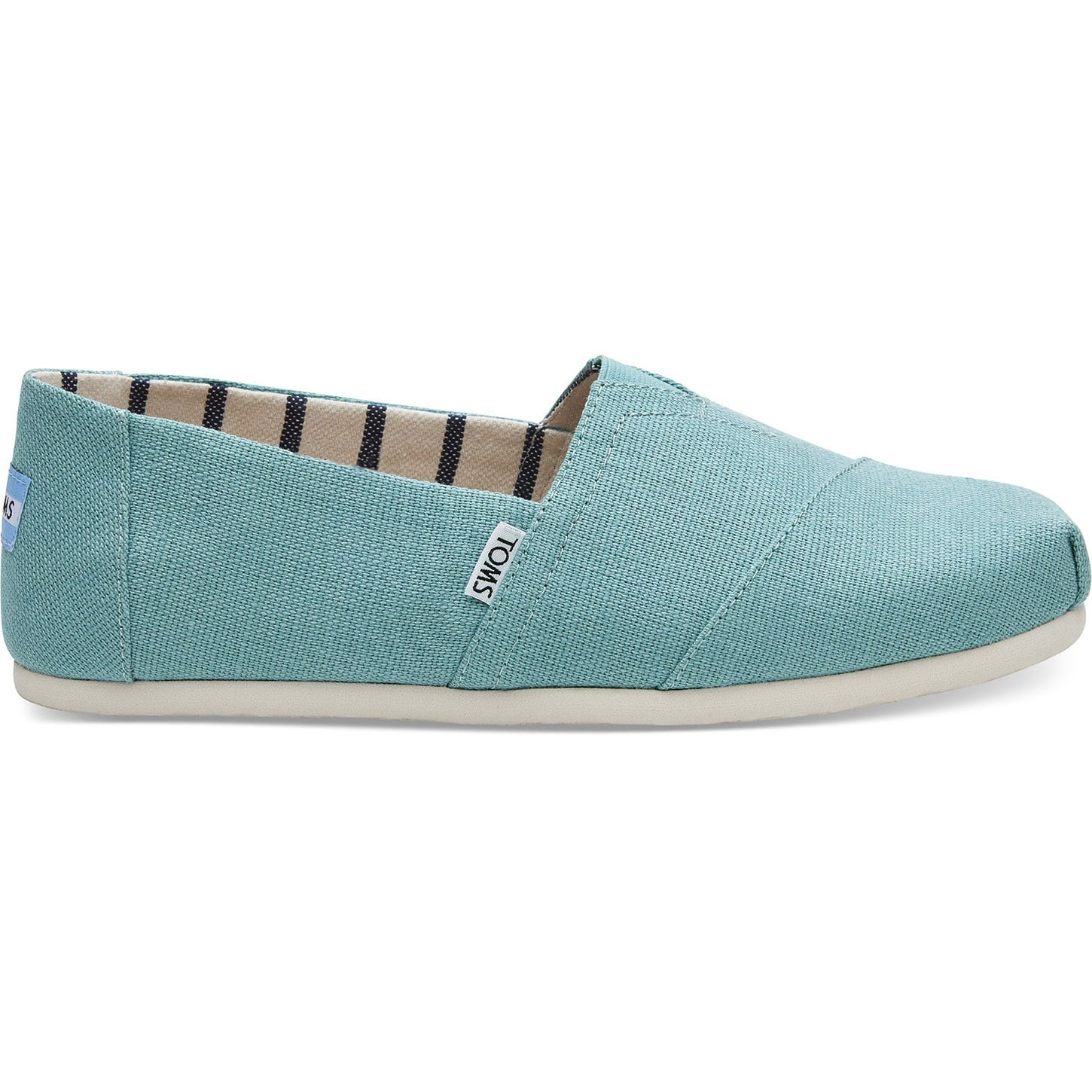 Toms Mens Marine Blue Heritage Canvas Classics Espadrilles Various Sizes