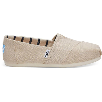 Toms Womens Heritage Canvas Classics Antique White Espadrilles