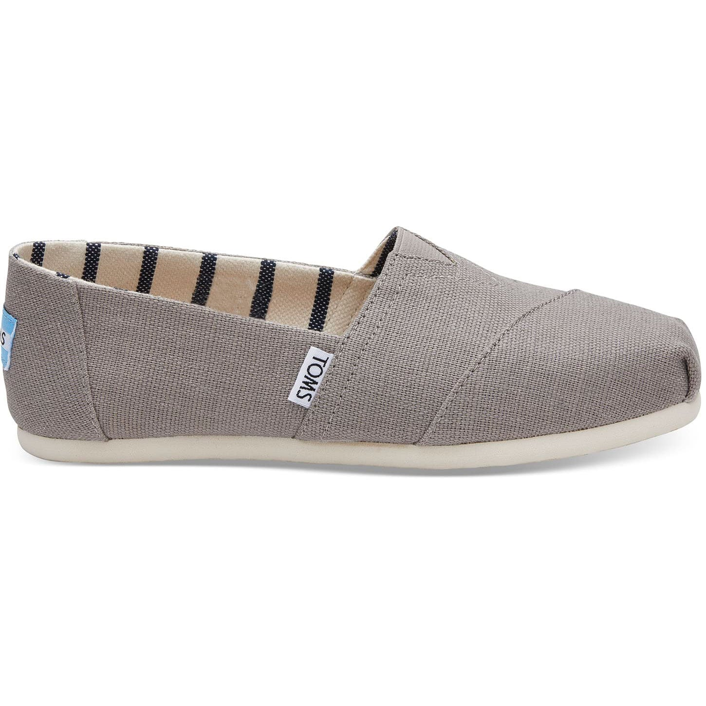 Toms Womens Heritage Canvas Classics Morning Dove Espadrilles