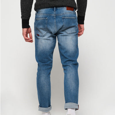 Superdry Tyler Slim Tunsall Jeans Mid Blue
