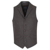 Guide London Italian Wool Waistcoat Brown Navy Mix WC3296