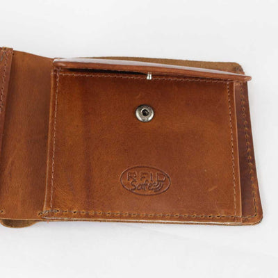 Ashwood  Kingsbury Oily Hunter Leather Wallet 1882 Brown or Chestnut