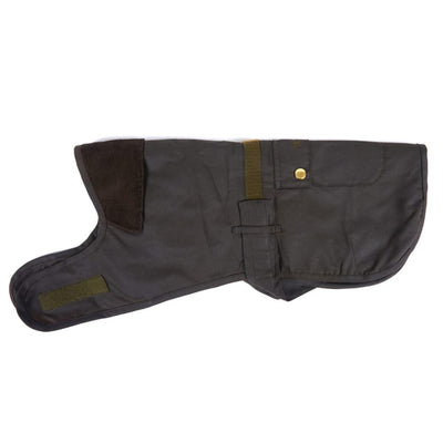 Barbour 2 in 1 Wax Dog Coat Olive