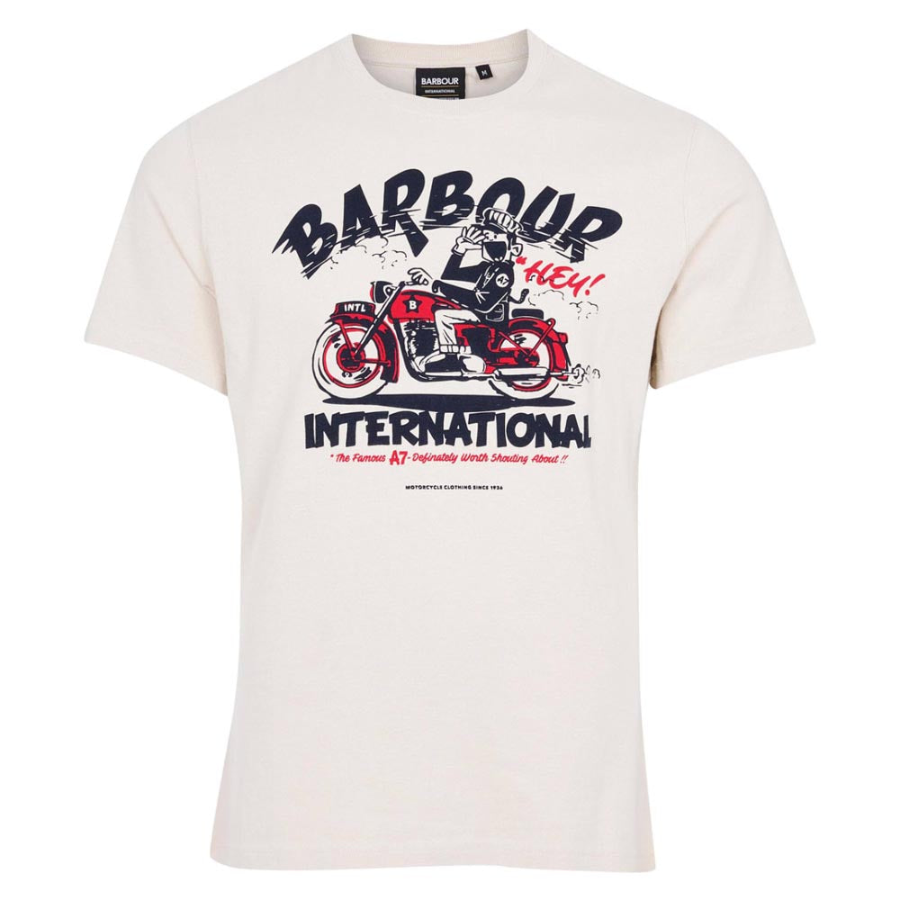 Barbour International Legendary A7 T-Shirt Mist