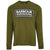 Barbour International Grid Logo LS T-Shirt Vintage Green