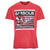 Barbour International Steve McQueen Time T-Shirt Sunbleach Red
