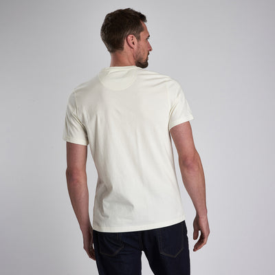 Barbour International Snake Bolt T-Shirt Whisper White