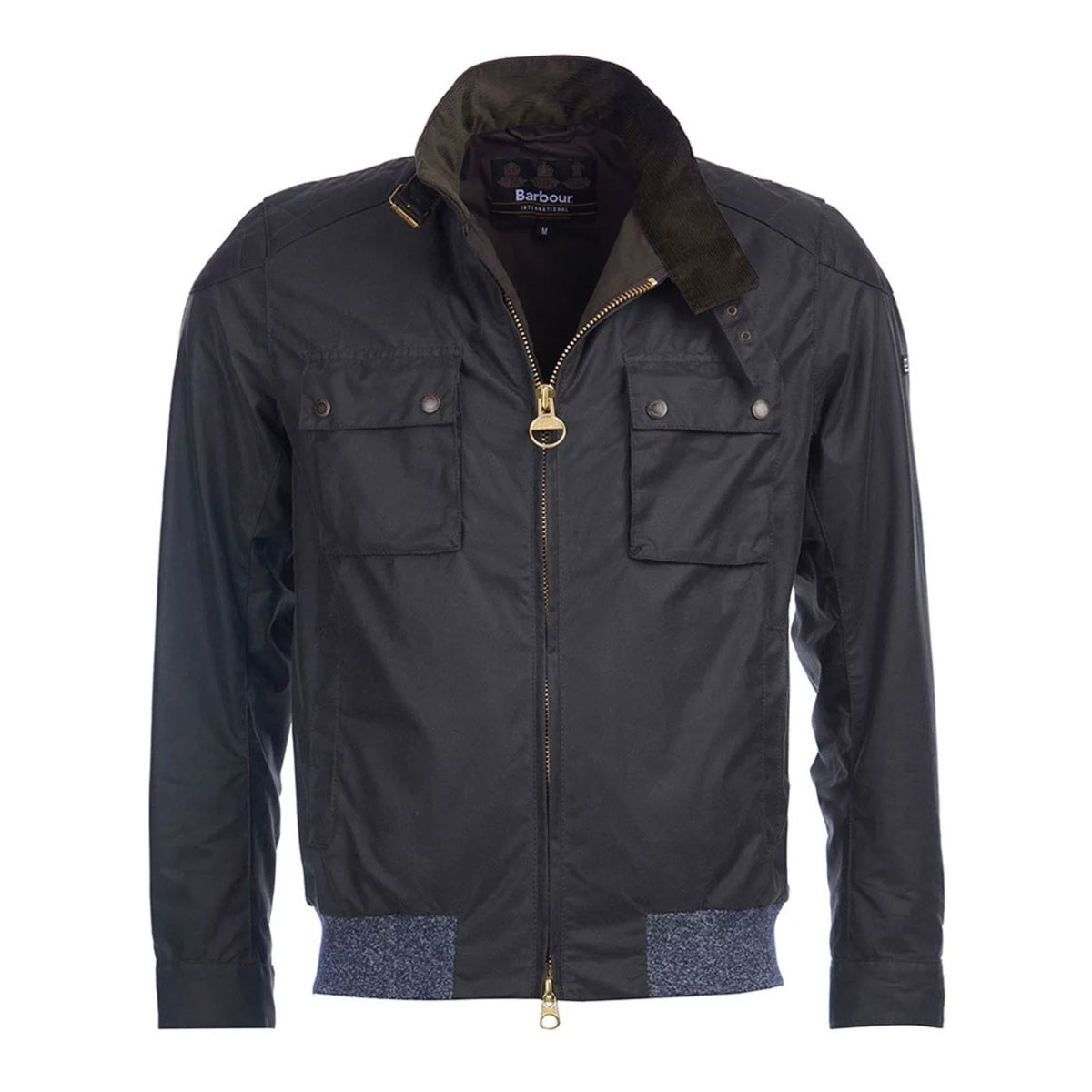 Barbour International Spec Wax Jacket Sage