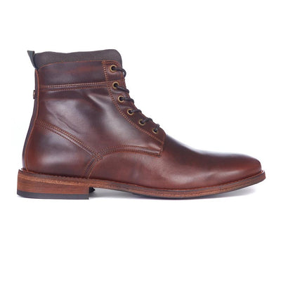 Barbour Backworth Derby Boots Mahogany