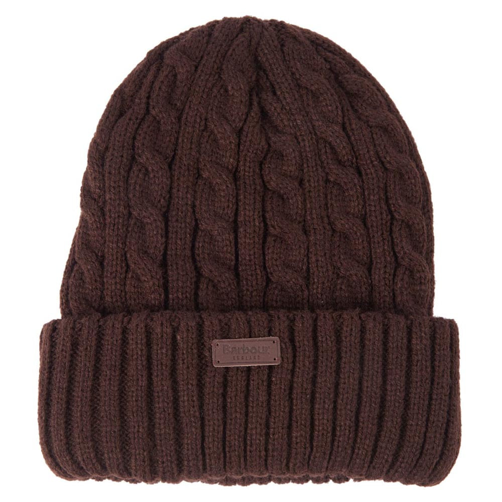 Barbour Balfron Beanie Bea Brown