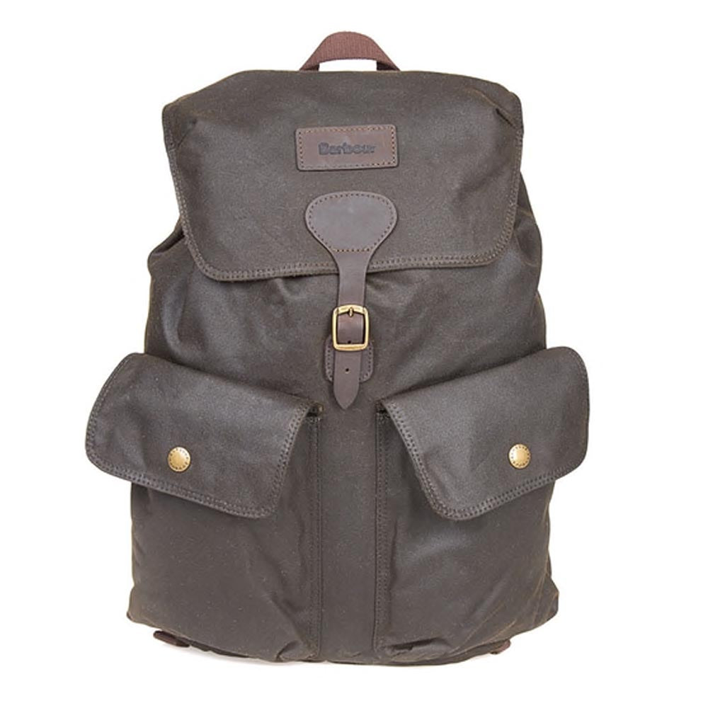 Barbour Beaufort Backpack Olive Green
