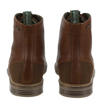 Barbour Belsay Brogue Boots Dark Brown