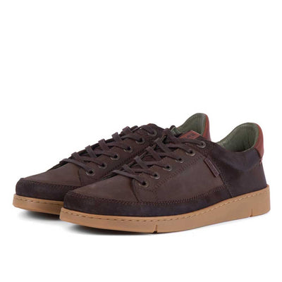 Barbour Bilby Shoes Brown Nubuck