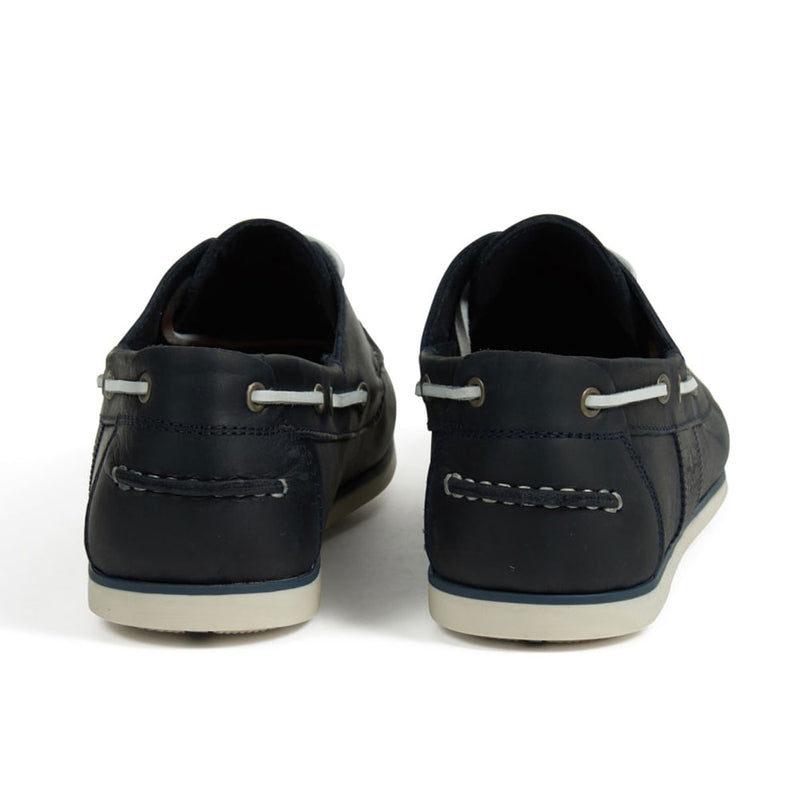Barbour Capstan Boat Shoes Navy Blue