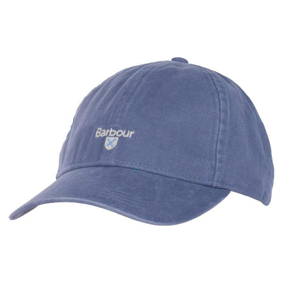 Barbour Mens Cascade Sports Cap Washed Blue