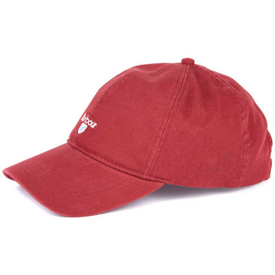 Barbour Men's Cascade Sports Cap Lobster Red