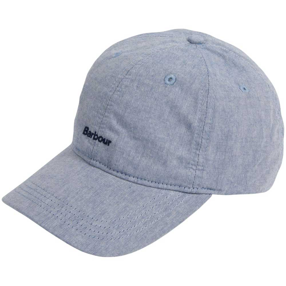 Barbour Men's Chambray Blue Cascade Cap