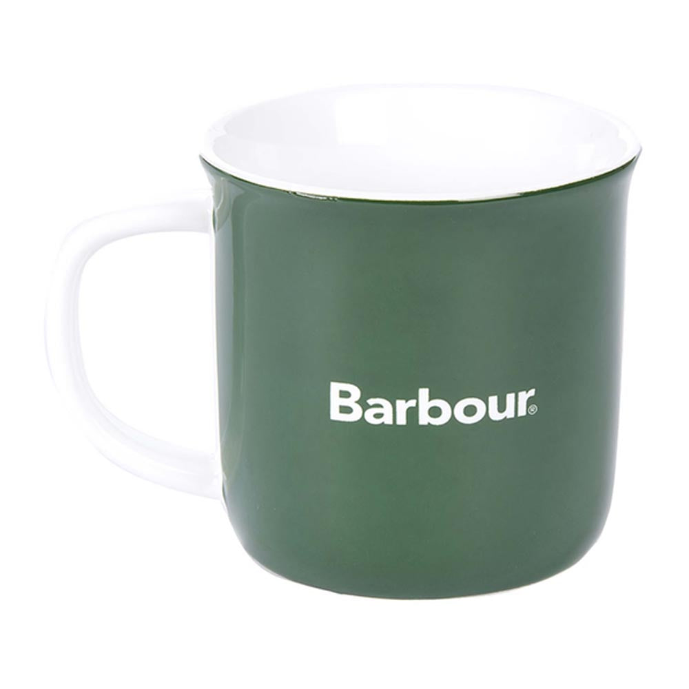 Barbour Classic Ceramic Mug Green