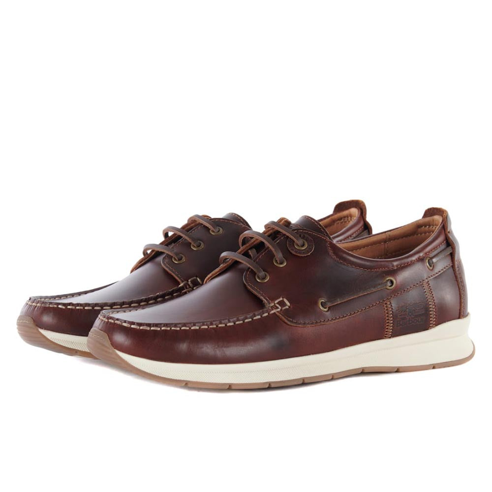 Barbour Men's Cook Boat Shoes Brown