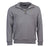 Barbour Mens Crest Half Zip Sweater Grey Marl