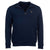 Barbour Mens Crest Half Zip Sweater Navy