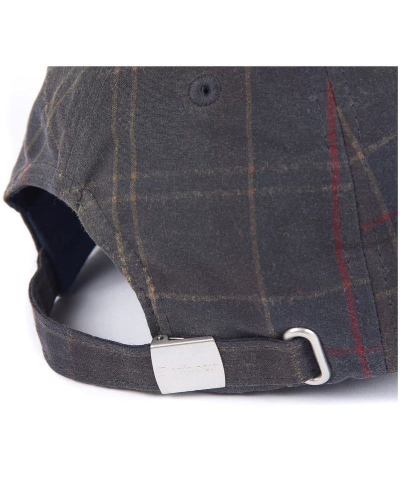 Barbour Men's Darwen Tartan Wax Sports Cap Classic